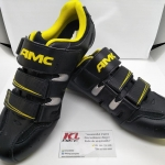 รองเท้าคลีตสำหรับ เสือหมอบ ยี่ห้อ AMC Size 41 42 43 44 45 สองสี ดำเหลือง ดำแดง