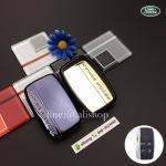 กรอบ-เคสยาง ใส่กุญแจรีโมทรถยนต์ Land Rover Smart Key สีดำ