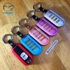 กรอบ-เคส ใส่กุญแจรีโมทรถยนต์ รุ่นอลูมิเนียมสีสัน Mazda 2,3/CX-3,5 Smart Key 2 ปุ่ม