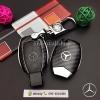 กรอบ-เคส ใส่กุญแจรีโมทรถยนต์ รุ่นตูดดัด Mercedes Benz ลายเคฟล่า