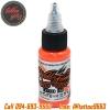 [WORLD FAMOUS] หมึกสักเวิล์ดเฟมัส หมึกสักลายเวิล์ดเฟมัส สีสักลายสีส้ม ขนาด 1 ออนซ์ สีสักนำเข้าจากประเทศอเมริกา World Famous Tattoo Ink - Everest Orange (1OZ/30ML)