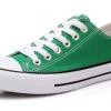 [พร้อมส่ง]รองเท้าผ้าใบแฟชั่น สี เขียว รุ่น 191