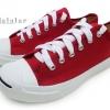 [พร้อมส่ง]รองเท้าผ้าใบแฟชั่น LEO JACK สีแดง