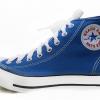 [พร้อมส่ง]รองเท้าผ้าใบแฟชั่น บูทหุ้มข้อ สีฟ้า-น้ำทะเล รุ่น 222