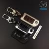 กรอบ-เคส ใส่กุญแจรีโมทรถยนต์ รุ่นโคเมี่ยม Mazda 2,3 พับข้าง รุ่น 3 ปุ่ม