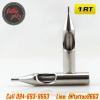 [1RT] ปลายกระบอกเข็มสัก ปลายสแตนเลสเบอร์ 1RT 304 Stainless Steel Tattoo Needle Mouth (1 PC)