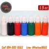 [SET 7COLORS/15CC] ชุดหมึกสักลายแบ่งขายคละสี 7 สี หมึกสัก สีสักลาย ขนาด 1/2 ออนซ์ Tattoo Ink Set (15ML - 7PC)