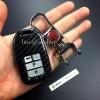 กรอบ-เคส ใส่กุญแจรีโมทรถยนต์ Honda Smart Key 2,3,4 ปุ่ม ลายเคฟล่า