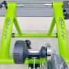 เทรนเนอร์จักรยาน S-Fight พร้อมรีโมทปรับระดับความหนืดได้ ถาดรองล้อและแกนปลดเร็ว