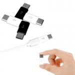 หัวแปลง MicroUSB เป็น Type-C // MicroUSB - USB Type-C Adapter Convert Connector