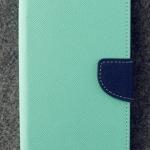 เคส asus zenfone live zb501kl (ASUS_A007) ฝาพับ ฝาปิด mercury fancy diary case สีเขียว-กรมท่า