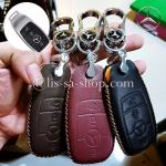 ซองหนังแท้ ใส่กุญแจรีโมทรถยนต์ Hi-En Mercedes Benz E-Class W213,E220d Smart Key