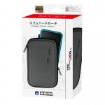 กระเป๋าสลิมฮาร์ดเปาช์ สีดำขอบดำ สำหรับ New2DSXL , LL