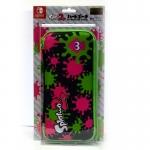 Splatoon 2 Hard Pouch for Nintendo Switch (Ink x Ika) ยี่ห้อ Hori ของแทั จากญี่ปุ่น (NSW-051)