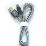 สายถัก USB Type-c Cable อย่างดี ทนทาน ++ TYPE-C USB Nylon Data Line / Charging Cable