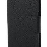 เคส asus zenfone live zb501kl (ASUS_A007) ฝาพับ ฝาปิด mercury fancy diary case สีดำ