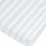 Cotton 250 เส้น ลายริ้ว - ผ้าปูที่นอน รัดมุม