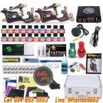 [SET E2] ชุดเครื่องสักโรตารี่ Double Panther Rotary เครื่องสักมอเตอร์งานลงเส้น/ลงเงา เครื่องสักลายครบชุด พร้อมอุปกรณ์สัก หมึกสัก สีสัก เข็มสัก (Rotary Professional's Choice Tattoo Machine Duo Set)