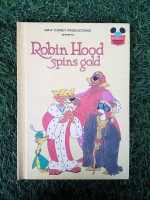 WALT DISNEY PRODUCTIONS : Robin Hood spins gold