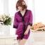 เซ็กซี่ชุดชั้นในลูกไม้ Robe ชุดนอน Nightgown + G-String สีขาว+ชมพูอ่อน thumbnail 6