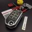 กรอบ-เคส ใส่กุญแจรีโมทรถยนต์ รุ่นเรืองแสง Honda Civic,All New Jazz พับข้าง 3 ปุ่ม thumbnail 3