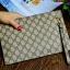 กระเป๋าสตางค์แบบซิบหน้าล๊อก/กระเป๋าคลัทช์ Louis Vuitton ลายตาราง ขนาดใหญ่ (Pre) thumbnail 6
