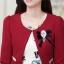 ชุดทำงานแฟชั่นเกาหลีสวยๆ มินิเดรสกระโปรงสั้น ชุดเซ็ท 2 ชิ้น ชุดเดรสสั้นพิม์ลายน่ารักๆ + เสื้อคลุมเก๋ๆ สีเบจ( M L XL XXL ) thumbnail 10