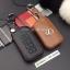 ซองหนังแท้ ใส่กุญแจรีโมทรถยนต์ รุ่นหนังนิ่ม โลโก้เหล็ก LEXUS ES300h Smart Key เล็กซ์ซัส thumbnail 2