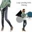 กางเกงผู้หญิงแฟชั่น jeggings ยืด Leggings Tights thumbnail 2