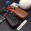 ซองหนังแท้ ใส่กุญแจรีโมทรถยนต์ รุ่นหนังนิ่ม โลโก้เหล็ก LEXUS IS250C,250/RX270,350,450h thumbnail 3