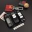 กรอบ-เคส ใส่กุญแจรีโมทรถยนต์ ลายเคฟล่า Mazda 2,3/CX-3,5 Smart Key 2 ปุ่ม thumbnail 4