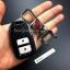 กรอบ-เคส ใส่กุญแจรีโมทรถยนต์ Honda Smart Key 2,3,4 ปุ่ม ลายเคฟล่า thumbnail 10