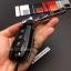 กรอบ-เคส ใส่กุญแจรีโมทรถยนต์ All New Ford Ranger,Everest 2015-17 Key 2-3 ปุ่ม ลายเคฟล่า thumbnail 8