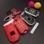 กรอบ-เคส ใส่กุญแจรีโมทรถยนต์ รุ่นเรืองแสง Honda Jazz 2014-2015 พับข้าง 2 ปุ่ม thumbnail 3