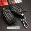 ซองหนังแท้ ใส่กุญแจรีโมท รุ่นด้ายสี หลังพิมพ์โลโก้ All New Toyota Fortuner/Camry 2015-17 Smart Key 4 ปุ่ม thumbnail 4
