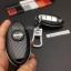 New กรอบ_เคส ใส่กุญแจรีโมทรถยนต์ Nissan March,X-Trail,Navara,Juke,Pulsar Smart Key 3 ลายเคฟล่า thumbnail 6