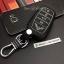 ซองหนังแท้ ใส่กุญแจรีโมท รุ่นด้ายสี หลังพิมพ์โลโก้ All New Toyota Fortuner/Camry 2015-17 Smart Key 4 ปุ่ม thumbnail 7