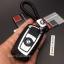 กรอบ-เคสยาง ใส่กุญแจรีโมทรถยนต์ X1,X3,X5,X6,Z4,F10 Smart Key รุ่น 2,3 ปุ่ม ลายเคฟล่า (พร้อมพวง) thumbnail 7