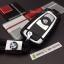 กรอบ-เคสยาง ใส่กุญแจรีโมทรถยนต์ X1,X3,X5,X6,Z4,F10 Smart Key รุ่น 2,3 ปุ่ม ลายเคฟล่า (พร้อมพวง) thumbnail 5
