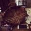 กระเป๋าถือ / หนัง PU วินเทจ สีทอง thumbnail 2