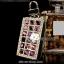 กระเป๋าซองหนังใส่ กุญแจรถยนต์ ประดับคริสตัล thumbnail 2