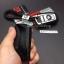 กรอบ-เคสยาง ใส่กุญแจรีโมทรถยนต์ X1,X3,X5,X6,Z4,F10 Smart Key รุ่น 2,3 ปุ่ม ลายเคฟล่า (พร้อมพวง) thumbnail 12
