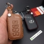ซองหนังแท้ ใส่กุญแจรีโมทรถยนต์ รุ่นหนังนิ่ม โลโก้เหล็ก LEXUS ES300h Smart Key เล็กซ์ซัส thumbnail 9