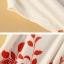 แฟชั่นแขนสั้น รอบเอวหลวม สีแดง ฟรีไซส์ thumbnail 6