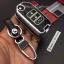 กรอบ-เคส ใส่กุญแจรีโมทรถยนต์ รุ่นเรืองแสง Honda Jazz 2014-2015 พับข้าง 2 ปุ่ม thumbnail 13