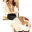 เสื้อเชิ้ตทำงานสีขาว แขนยาว คอปก กระดุมหน้า หน้าอกพิมพ์ลายสีสัน สวยเก๋ thumbnail 3