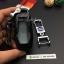 กรอบ-เคส ใส่กุญแจรีโมทรถยนต์ All New Ford Mustang Smart Key ลายเคฟล่า thumbnail 9