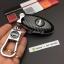 New กรอบ_เคส ใส่กุญแจรีโมทรถยนต์ Nissan March,X-Trail,Navara,Juke,Pulsar Smart Key 3 ลายเคฟล่า thumbnail 8