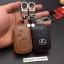 ซองหนังแท้ ใส่กุญแจรีโมทรถยนต์ รุ่นหนังนิ่ม โลโก้เหล็ก LEXUS IS250C,250/RX270,350,450h thumbnail 9