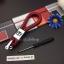 สายห้อยพวงกุญแจ ลายถักสาน โลโก้ HONDA (พร้อมไขขวง) thumbnail 4